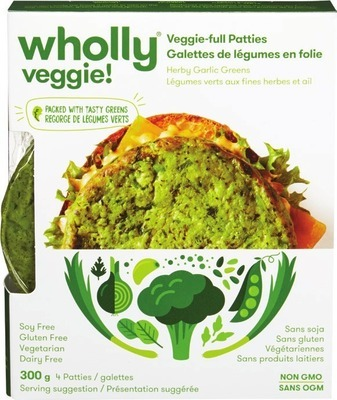 WHOLLY VEGGIE! VEGGIE PATTIES