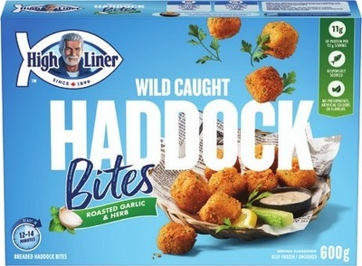 HIGH LINER CATCH OF THE DAY OR HADDOCK BITES