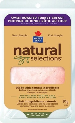 BOTHWELL CHEESE, MAPLE LEAF OR GREENFIELD NATURAL MEAT CO. SLICED DELI MEATS