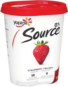 YOPLAIT SOURCE YOGURT 650 G MINIGO OR TUBES 6 ‑ 8 X 60 G