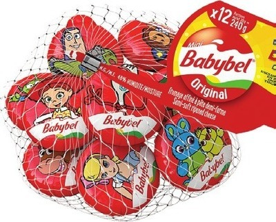 BABYBEL OR THE LAUGHING COW CHEESE