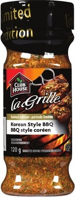 CLUB HOUSE LA GRILLE OR ONE STEP SPICE BOTTLE
