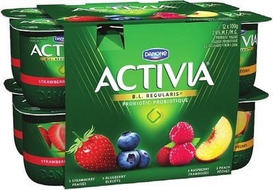 DANONE ACTIVIA YOGURT 12 X 100 G OR DANACTIVE DRINKABLE YOGURT 8 X 93 ML