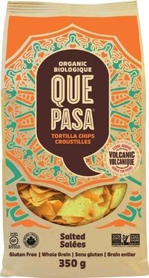 QUE PASA TORTILLA CHIPS OR G.H. CRETORS POPCORN