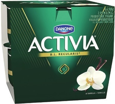 DANONE ACTIVIA 8 X 100 G, 650 G, OÏKOS GREEK YOGOURT 4 X 95 G - 100 G OR DANINO DRINKABLE YOGOURT 8 X 93 ML