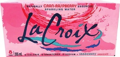 LA CROIX SPARKLING WATER OR ZEVIA CARBONATED BEVERAGE