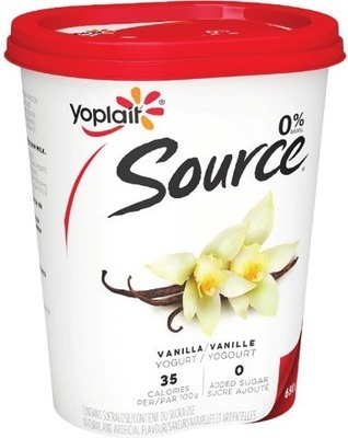 YOPLAIT SOURCE YOGOURT 650 G, MINIGO OR TUBES 6 - 8 X 60 G