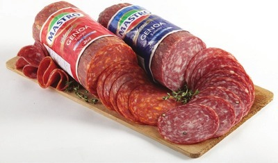 MASTRO HOT OR MILD GENOA SALAMI OR SAPUTO PROVOLONE CHEESE