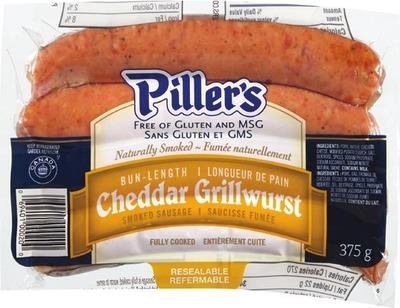 PILLER'S GRILLWURST SMOKED SAUSAGE