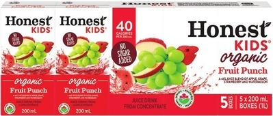 HONEST KIDS FRUIT DRINKS