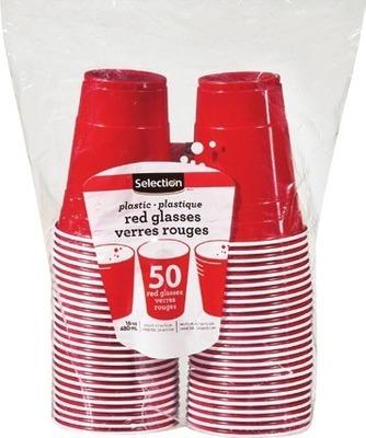 SELECTION CUPS 50 UN. NAPKINS 500 UN. OR CRYOPAK 24 CAN FOAM COOLER 1 UN.
