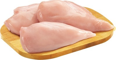 FRESH CHICKEN BREAST VALUE PACK BONELESS SKINLESS FILLET REMOVED OR BONELESS TURKEY BREAST HALF