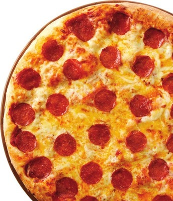 """PEPPERONI CHEESE 16"""" X-LARGE HOT PIZZA"""