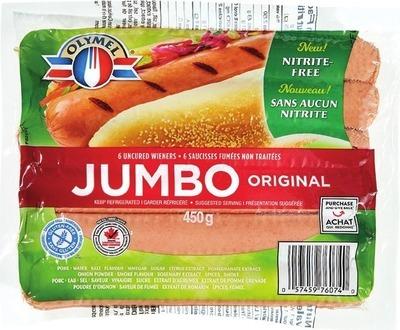 OLYMEL JUMBO WIENERS
