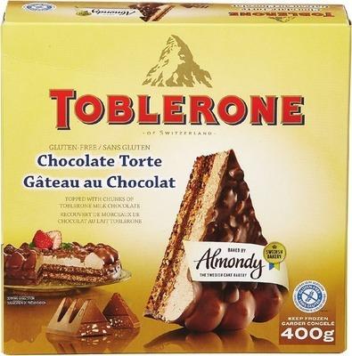 TOBLERONE GLUTEN FREE CHOCOLATE CAKE