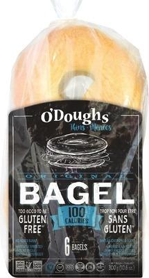 O'DOUGHS GLUTEN FREE HAMBURGER BUNS, FLATBREADS, BAGELS OR SANDWICH THINS
