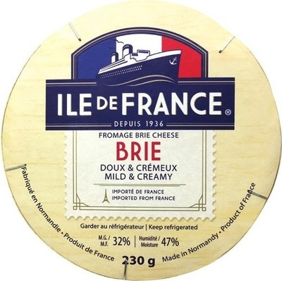 ILE DE FRANCE BRIE OR CAMEMBERT, RUSTIC CAMEMBERT, AGROPUR IMPORT COLLECTION STILTON, MANCHEGO, ST.AGUR, CAMBOZOLA OR LIMBURGER HALAL CHEESE