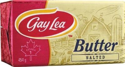 GAY LEA BUTTER