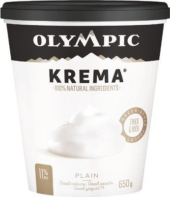 OLYMPIC KREMA YOGOURT TUBS