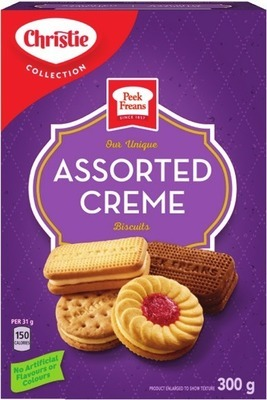 CHRISTIE DAD'S, PEEK FREANS OR LIFESTYLE COOKIES