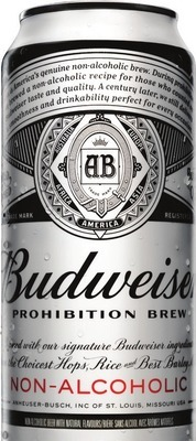 BUDWEISER PROHIBITION NON-ALCOHOLIC BEER