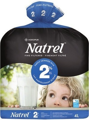 NATREL FINE-FILTERED OR LACTANTIA PURFILTRE MILK