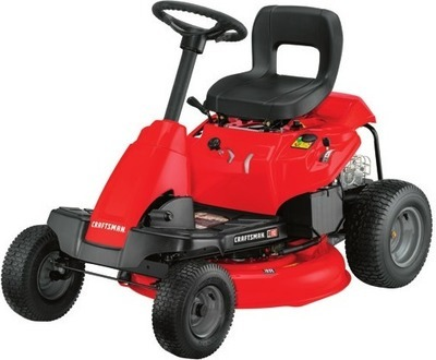 Get CRAFTSMAN R110 10 5-HPv 30-in Cut Riding Lawn Mower for