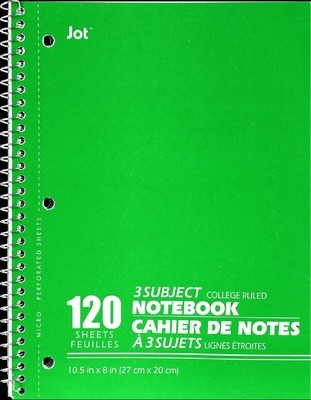 Get 3-Subject NOTEBOOKS with $1 0 in San Diego | Flipp