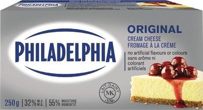 PHILADELPHIA CREAM CHEESE 227 - 250 G OR WHIPPED FROSTING 280 G