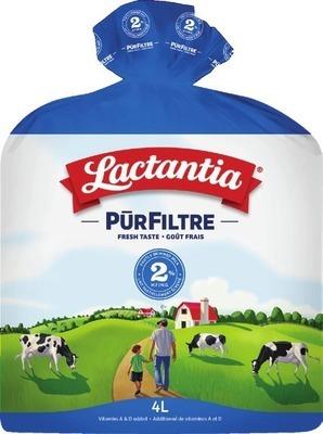 LACTANTIA PURFILTRE MILK 4 L OR LACTOSE FREE MILK 2 L