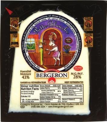 BERGERON LE FIN RENARD, PATTE BLANCHE OR ANCO GOUDA CHEESE
