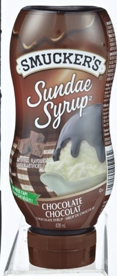 SMUCKER'S SUNDAE SYRUP OR KEEBLER WAFFLE CONES OR BOWLS