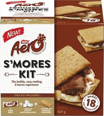 NESTLÉ AERO OR HERSHEY'S S'MORES KIT