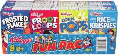 KELLOGG'S FUN PAC CEREAL