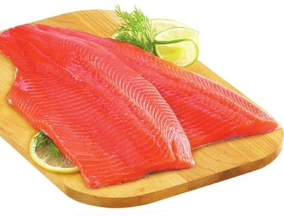 FRESH RAINBOW TROUT OR TILAPIA FILLETS FAMILY PACK MIN. 900 G OR HADDOCK FILLETS