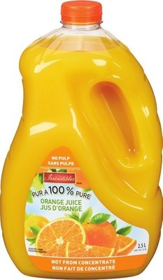 TROPICANA 6 X 236 ML, 1.54 - 1.75 L OR IRRESISTIBLES REFRIGERATED JUICE 2.5 L