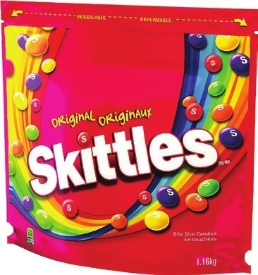 SKITTLES CANDY 1.16 KG, HERSHEY'S OR AERO S'MORES KIT