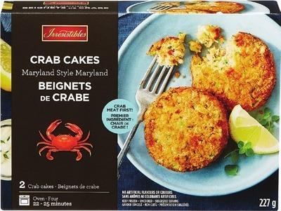 IRRESISTIBLES GARLIC & HERB SHRIMP OR CRAB CAKES
