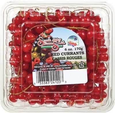 BLACK OR RED CURRANTS 170 G GOOSEBERRIES 170 G