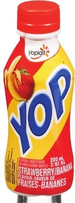 YOP DRINKABLE YOGOURT