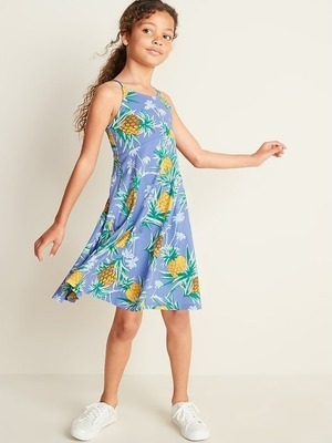 f4db0b462988f Get Printed Jersey Fit & Flare Cami Dress for Girls for $24.99 in ...