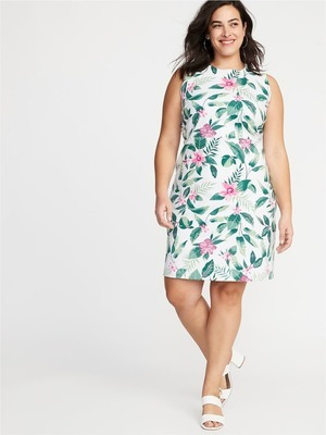 Get Sleeveless Plus-Size Ponte-Knit Sheath Dress for $29.97 in Crewe ...