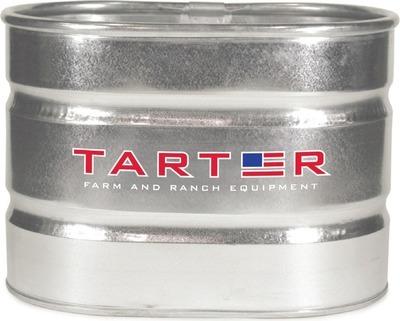 Get Tarter Oval Galvanized Stock Tank 2 Foot x 2 Foot x 3