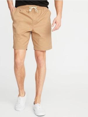 9ffff0ab3f Get Built-In Flex Twill Drawstring Jogger Shorts for Men - 9-inch ...