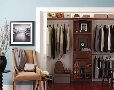 Get allen + roth® 8-ft Java Wood Closet Kit with $299 0 in