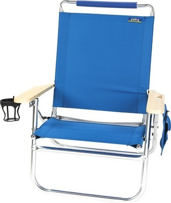 Superb Get 4 Position High Back Ez In Ez Out Beach Chair With 30 0 Home Interior And Landscaping Ferensignezvosmurscom