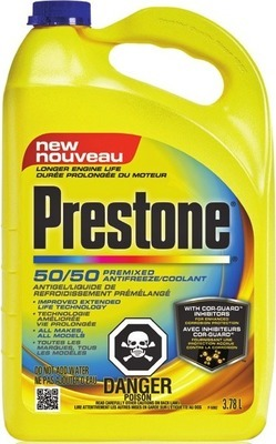Get Prestone Premixed Antifreeze/ Coolant for $11 89 in