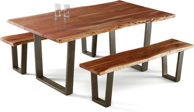 Get Modavari™ Forrest Live Edge Bench with $199 99 in