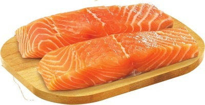 FRESH NORWEGIAN ATLANTIC SALMON PORTIONS SKIN ON, ICELANDIC COD PORTIONS 113 G OR ROCK LOBSTER TAIL FROZEN, 2 OZ