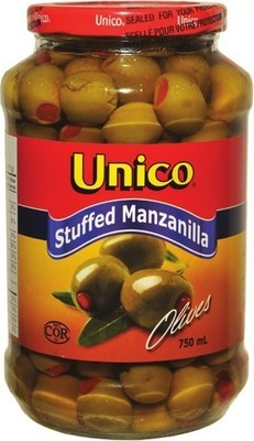 UNICO MANZANILLA OR KALAMATA OLIVES